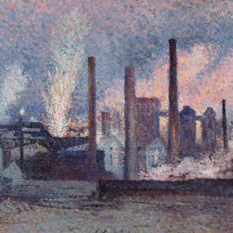 Les villes ardentes, art, travail, révolte (1870-1914)
