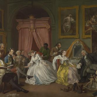 Marriage A-la-Mode, un cycle satirique au siècle des Lumières (2/2)