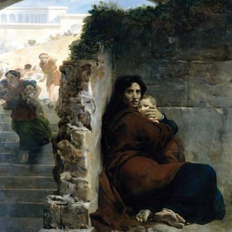 Scène du Massacre des Innocents par Léon Cogniet