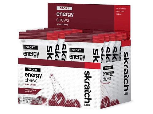ENERGY CHEWS-SOUR CHERRY