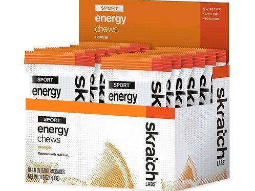 ENERGY CHEWS - ORANGE