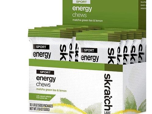 ENERGY CHEWS- MATCHA