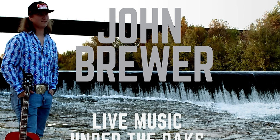 LIVE MUSIC WITH JOHN BREWER