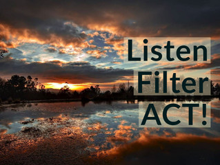 Listen, Filter, ACT!