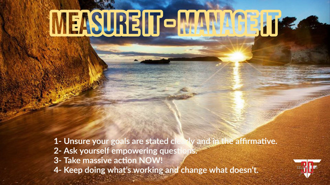 Measure It - Manage It!