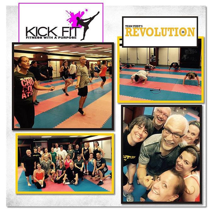 cardio kickboxing and bootcamp training