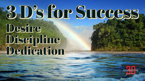 The Ds for Success