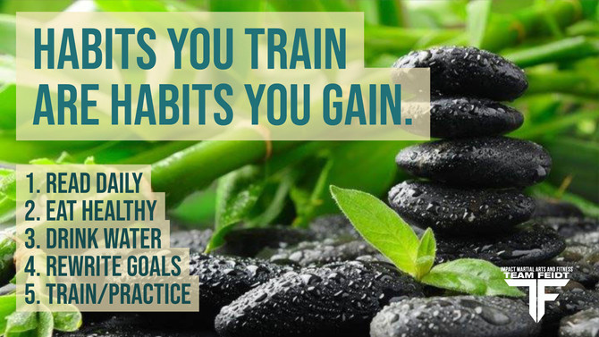 Habits You Train are Habits You Gain