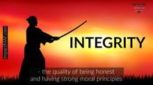 Black Belt Principle #3: Integrity