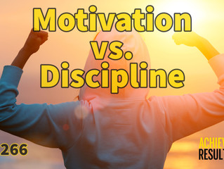 Motivation vs. Discipline