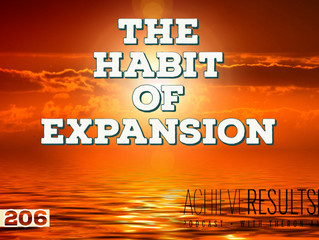 The Habit of Expansion