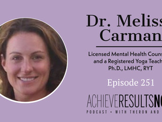 The Dr. Melissa Carman Interview