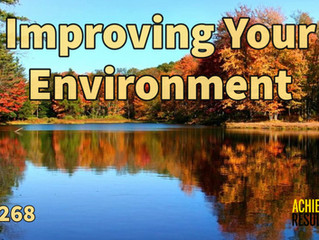 Improving Your Environment