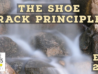 The Shoe Rack Principle