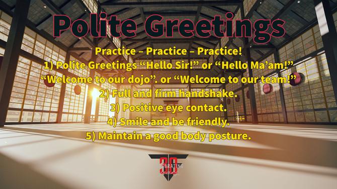 Polite Greetings
