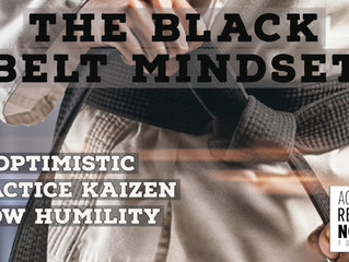 The Black Belt Mindset