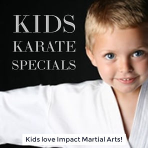 Kids karate, martial arts & kickboxing