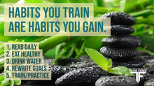 Habits You Train are Habits You Train