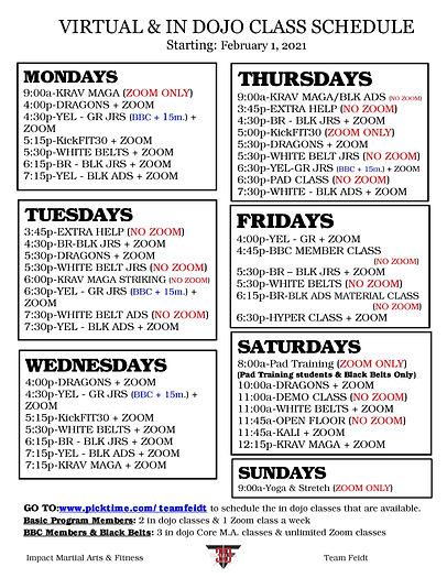 Virtual_In DOJO Class Schedule_Feb 1 202