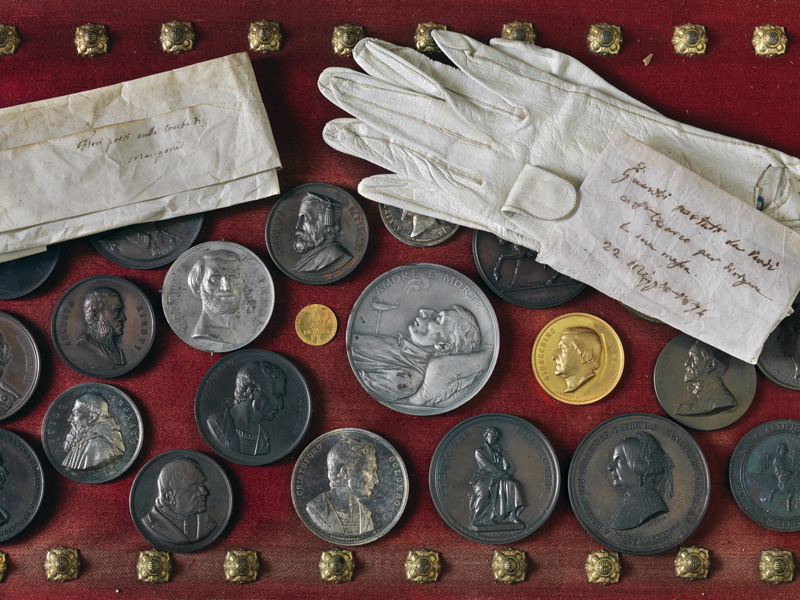 Coins and Gloves