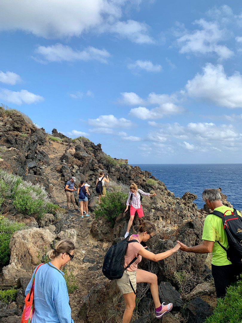 Pantelleria Hiking with Influencers