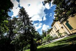 Particolare esterno Villa Verdi