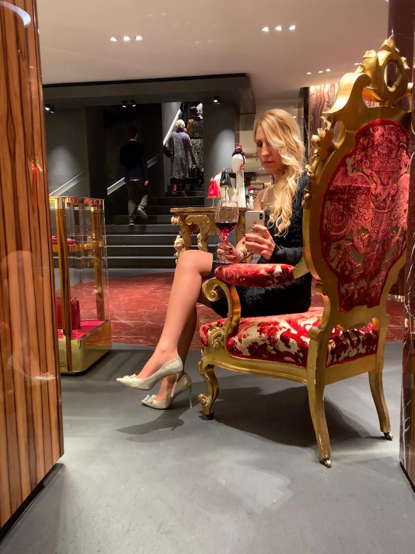 Evento Dolce e Gabbana via della Spiga