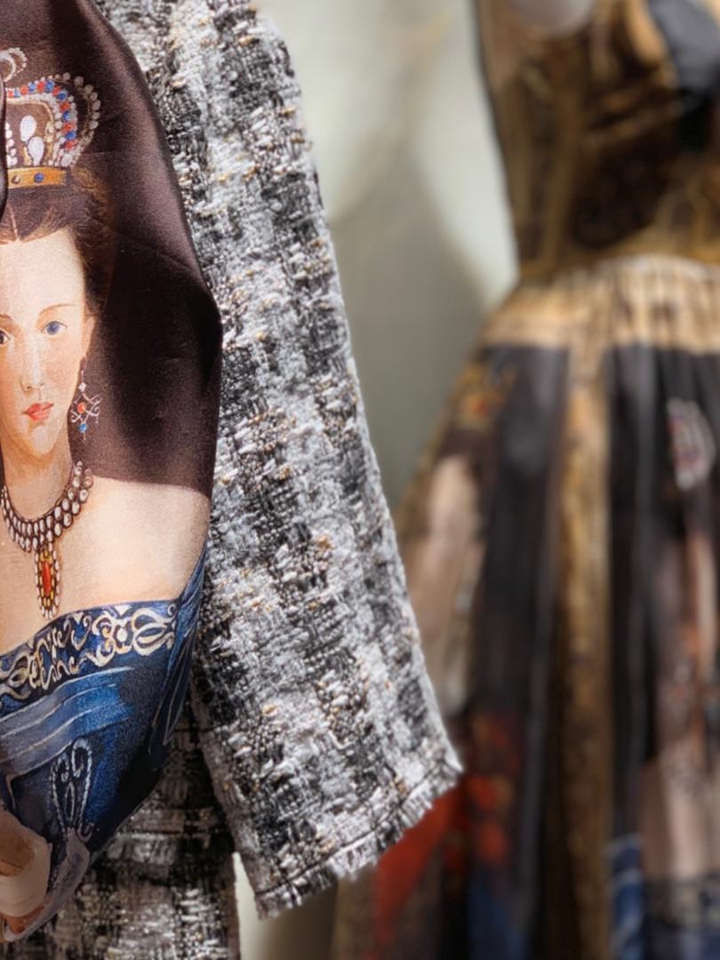 Dolce e Gabbana via della Spiga collezione autunno
