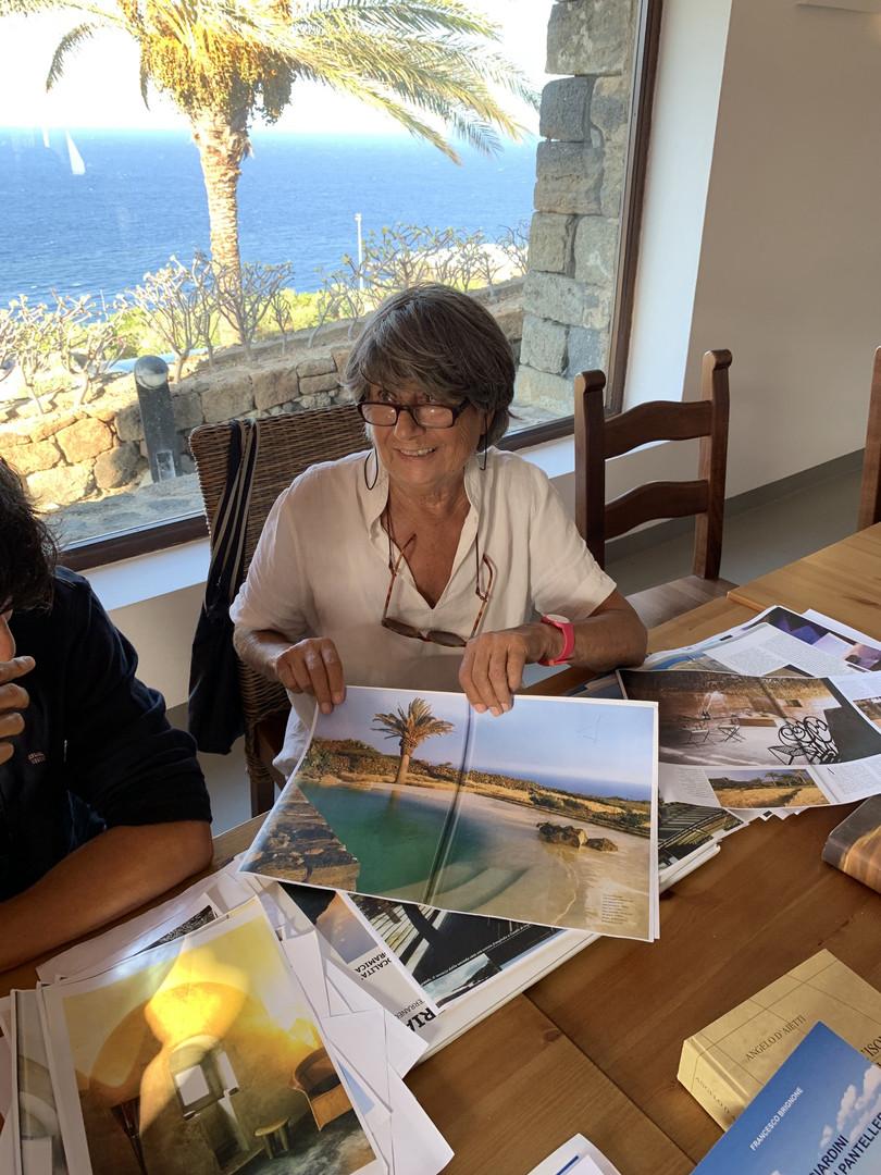 Architetto Giuntoli a Pantelleria