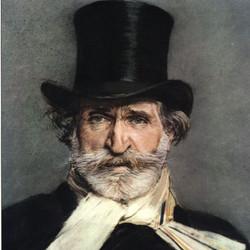 Iconico Giuseppe Verdi