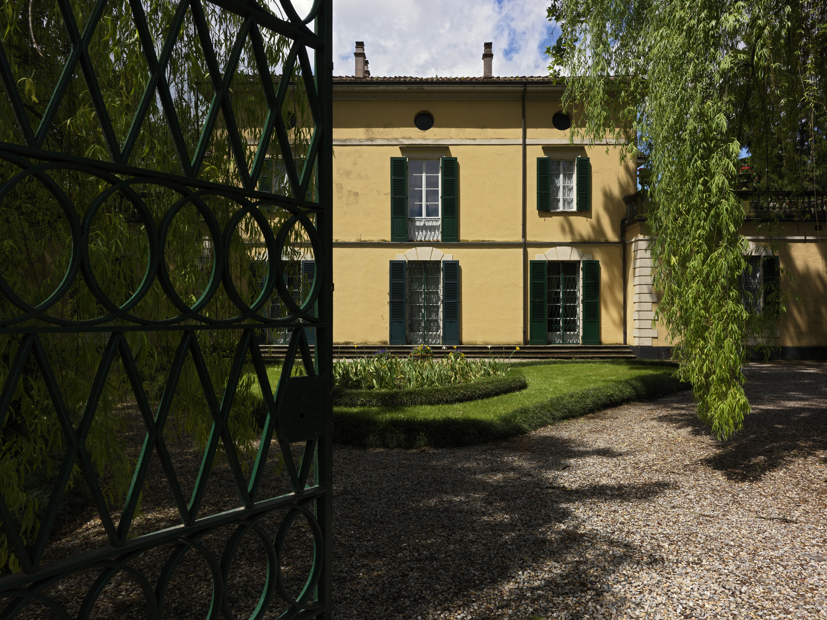 Entrance of Villa Verdi