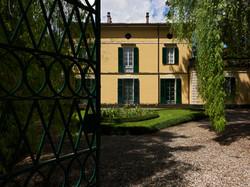 Ingresso di Villa Verdi