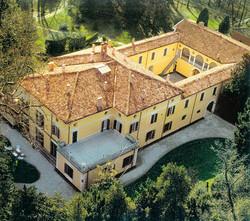 Veduta aerea di Villa Verdi