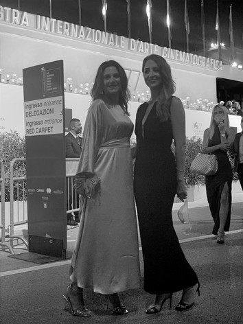 Camilla Bellini e Firpo Erica Red Carpet