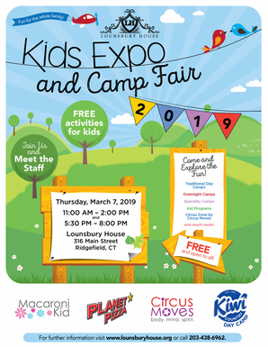 2019 Kids Expo and Camp Fair