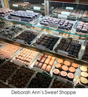 Homemade Chocolates and Ice Cream