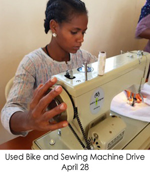 Used Bike and Sewing Machine Drive