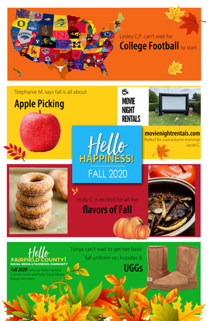 It's FALL Y'ALL! Another Hello Happiness story!
