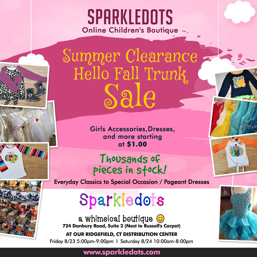 Sparkledots Children's Clothing Trunk Sale