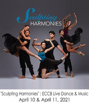 """""""Sculpting Harmonies"""" : ECCB live dance & music event"""