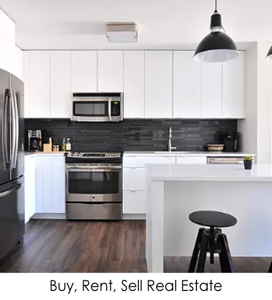 Buy, Rent, Sell Real Estate