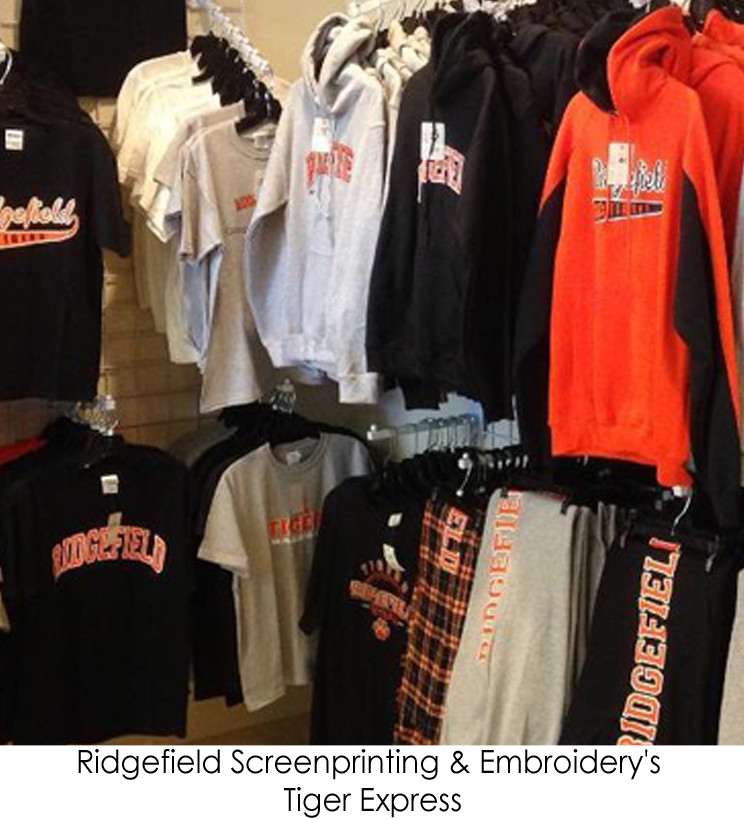 Ridgefield Screen Printing & Embroidery's Tiger Express