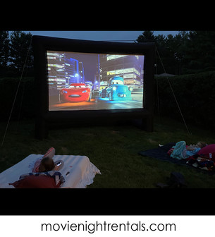 Projector, Movie Screen, and Inflatable Movie Screen Rentals
