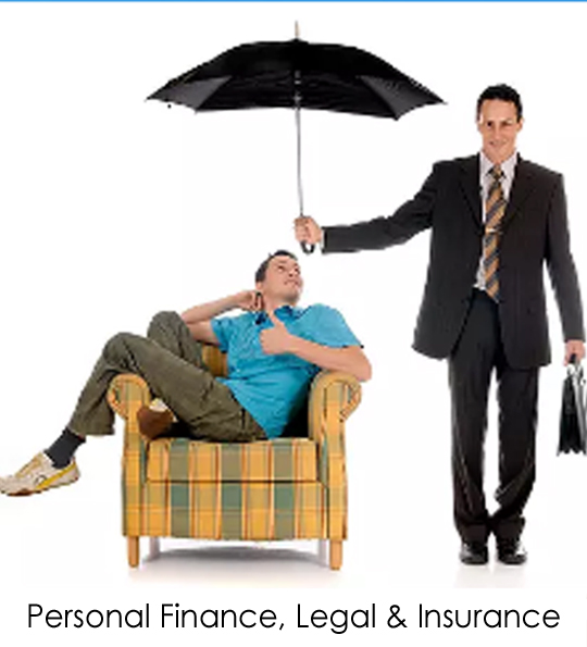 Personal Finance, Legal, Insurance