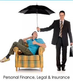 Personal Finance, Legal, Insurance