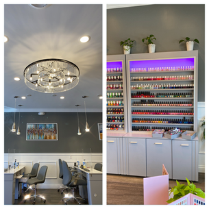 GETTING PAMPERED at V.NaiL in RIdgefield!