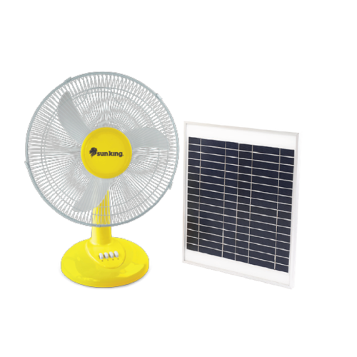 SUNKING 14'' SOLAR FAN AND PANEL