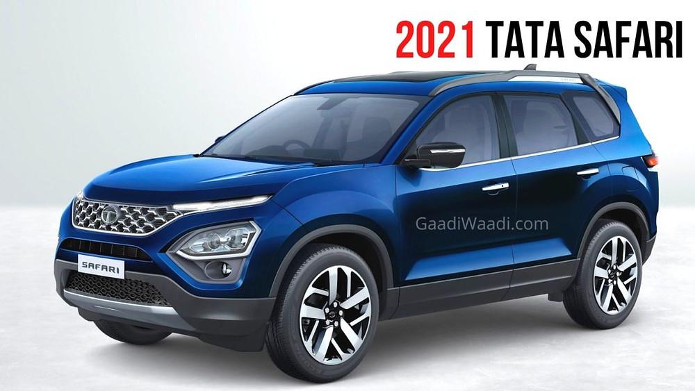 tata safari 2021