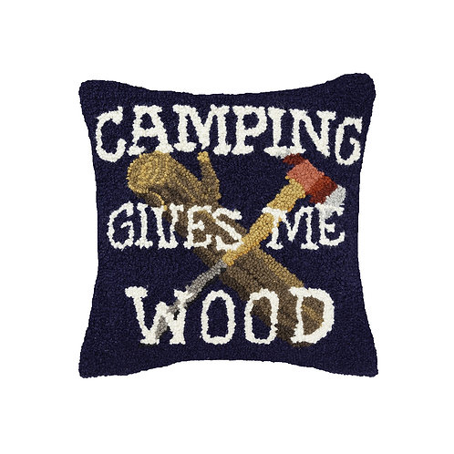 PEKING HANDICRAFT | CAMPING GIVES ME WOOD