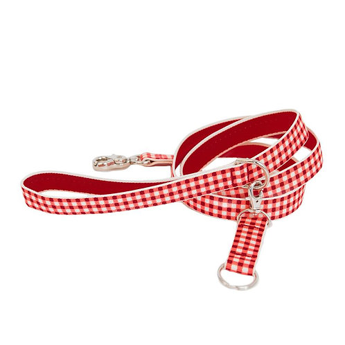Harry Barker | GINGHAM DOG LEASH